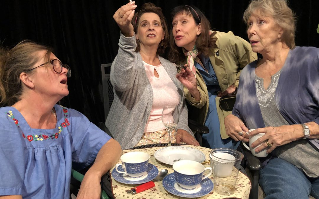 "FUSION THEATRE COMPANY: REVIEW OF  ""ESCAPED ALONE"" — AT THE CELL THROUGH DEC. 16"