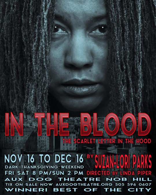 """AUX DOG THEATRE NOB HILL: REVIEW OF  """"IN THE BLOOD"""""""