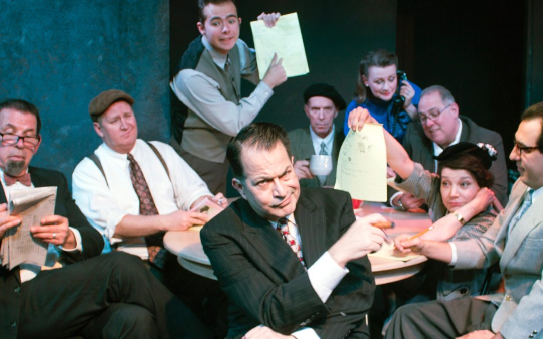 """ADOBE THEATER: NEIL SIMON'S """"LAUGHTER ON THE 23RD FLOOR"""" RECREATES TV WRITING STAFF OF THE 1950s"""